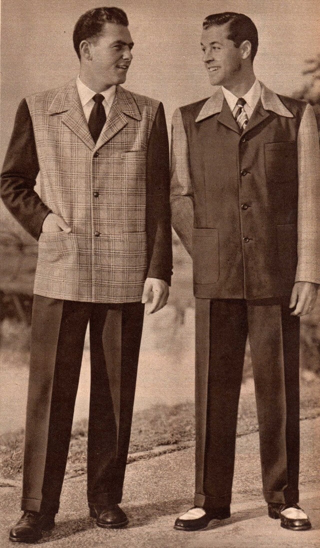 1950s Sports Coat with Dark Pant