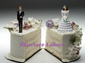 Things that can cause marriage failure