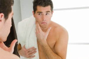 Men's skin care and skin types