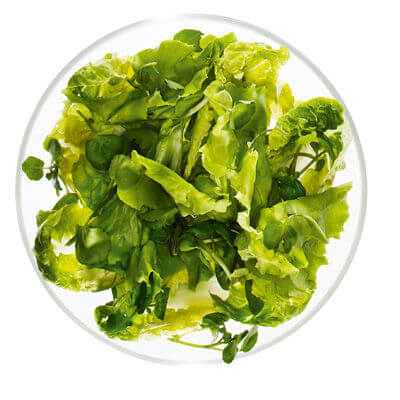 Is green salad beneficial for men's health?