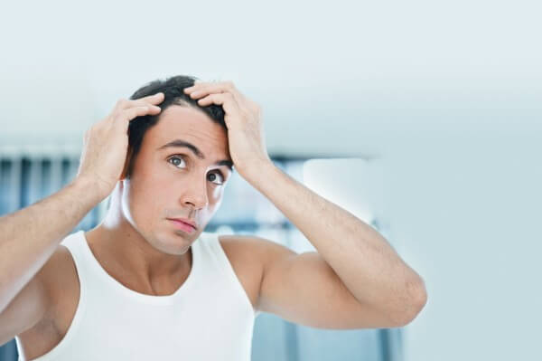 Hair loss in men- how to treat?