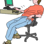 How to stop slouching in men?
