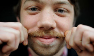 Best way to get rid of white hair in the moustache