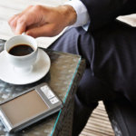 Is there any type of side effects caused by caffeine in men?
