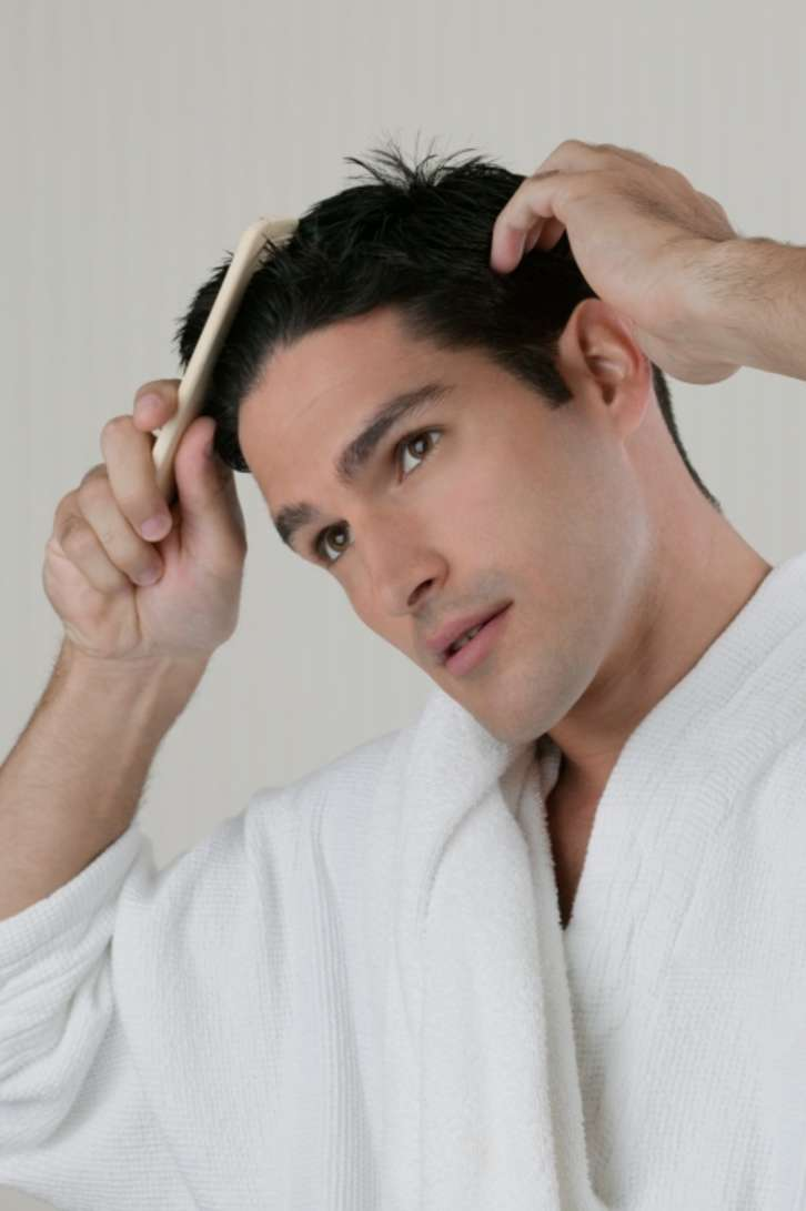 How to treat oily or greasy hair in men