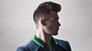 Psychobilly Wedge hairstyle