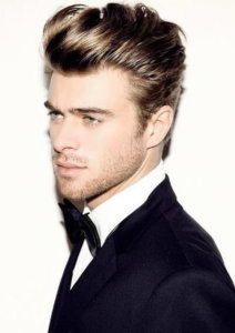 Hairstyle for square face male