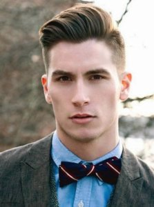 Hairstyle ideas for diamond face men