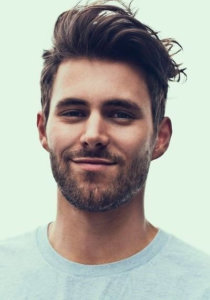 Messy wave hairstyle