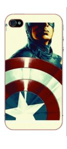 Captain America Designer Back Case