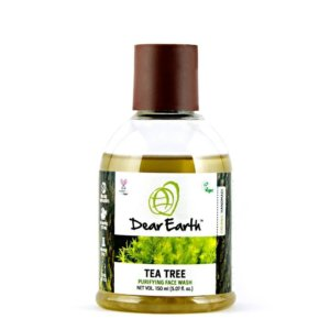Dear Earth Tea Tree Purifying Organic & Vegan Face Wash