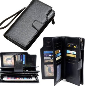 Ranboo multifunction leather cellphone man wallet case