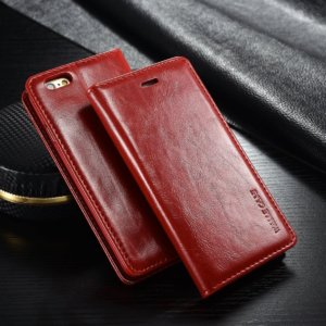 S leather Wallet Case in folio book design