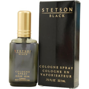 Stetson Black by Coty Cologne Spray for Men