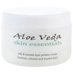 Aloe Veda Silk & Keratin Hair Protein Cream 100g