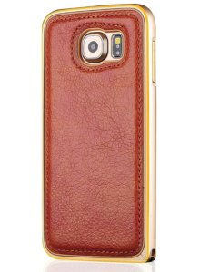 Back and bumper dual cover case for Samsung Galaxy S6 Edge