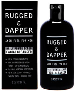 Daily Power Scrub Facial Cleanser For Men