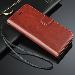 High Quality PU Leather Magnetic Flip Cover Case