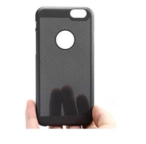 Loopee Heat Dissipation Hollow Thin Hard Back Case Cover