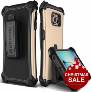 Samsung Galaxy S6 Edge Protective Case in Shine Gold
