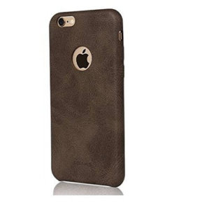 USAMS BOB Series Soft PU Leather Back Case Cover