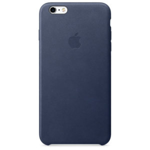 iPhone 6s Plus Leather Case Midnight Blue