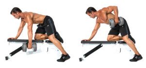 One Armed Dumbbell Row Pictures