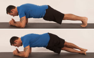 Pictures of Plank with Hip Twists