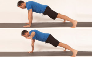 Plank with One Arm Raised Image