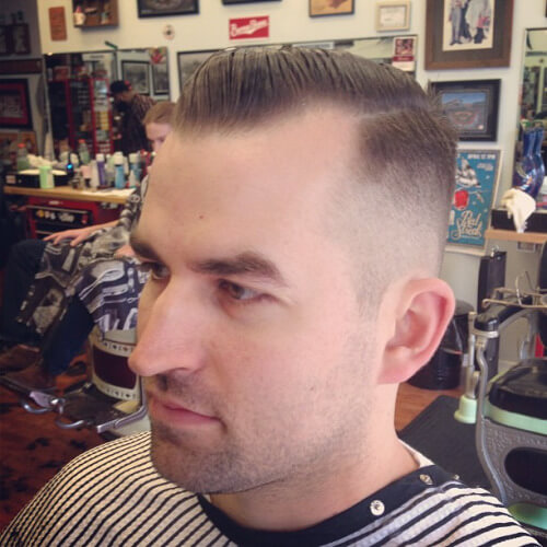 Hairstyles And Cuts For Men With Receding Hairlines Men