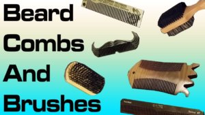 Beard comb and brush image