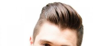 Pictures of Slicked Fading Pompadour