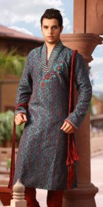 Picture of Wedding Kurta Pajama for Groom