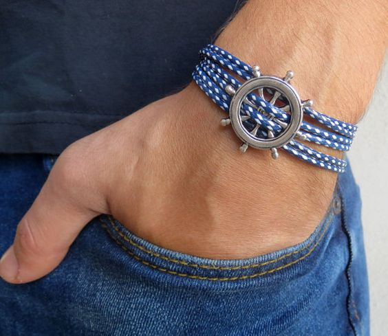 Anchor Bracelets for Men