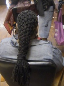 Basket Weave Dreadlocks