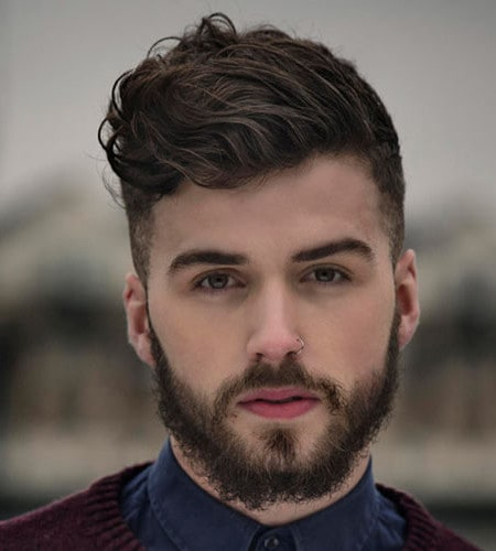 Top 10 Short Hairstyles For Men With Beard Men Health India Health And Fitness Tips For