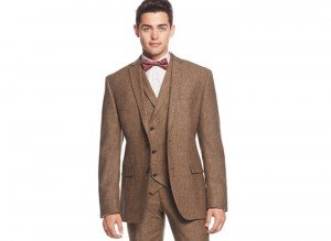 Brown Funeral Outfit for Men