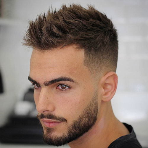 Top 10 Short Hairstyles For Men With Beard Men Health India