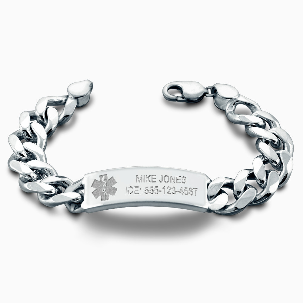 Id Bracelet for Men