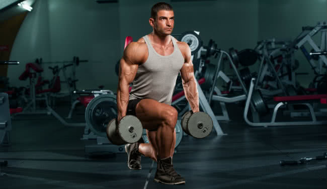 Lunges Exercise for Men