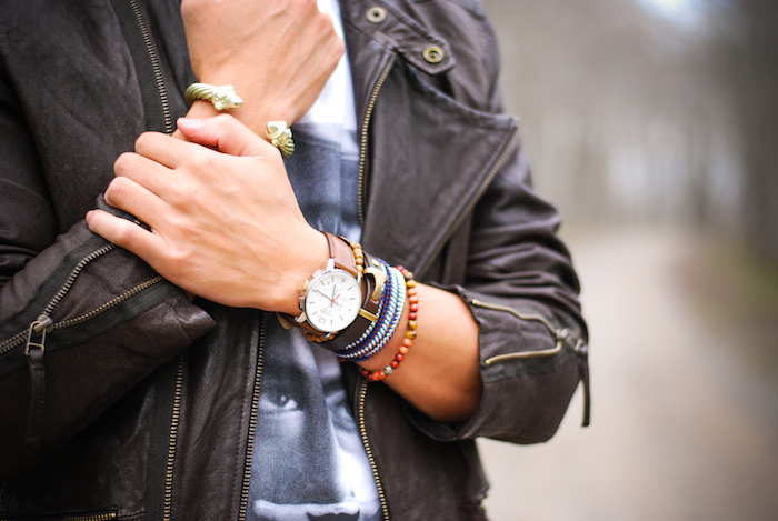 Cool Men's Bracelets to Wear with a Watch