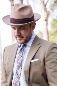 Men Wearing Fedora