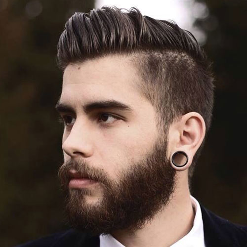 Top 10 Short Hairstyles for Men with Beard