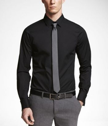 What to wear to a funeral a guide for men s attire men for Dress pants and shirts for men