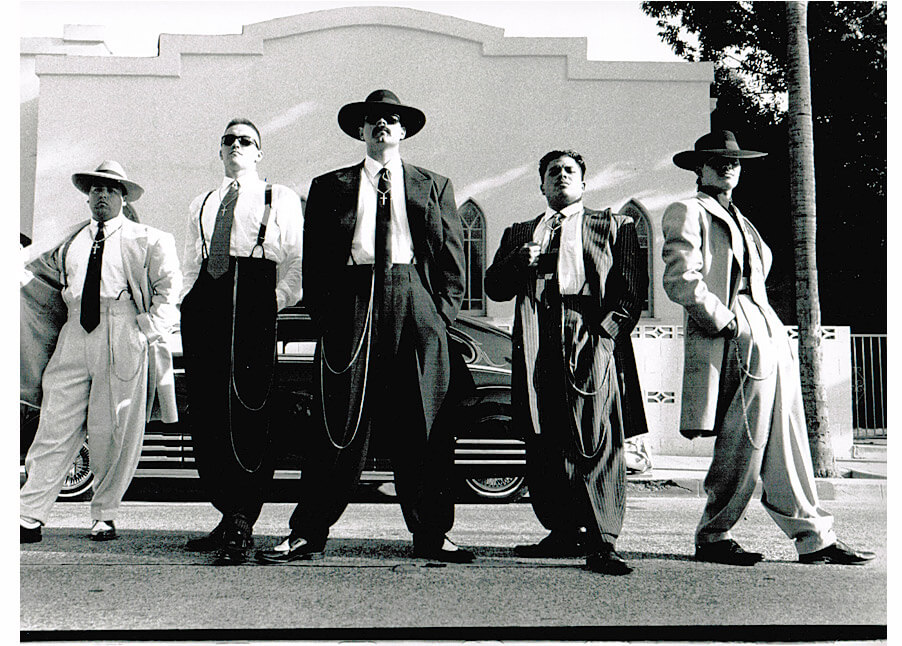 Mens Fashion Zoot Suits